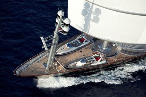 Песков иНавка путешествуют насамой дорогой вмире яхте— Навальный