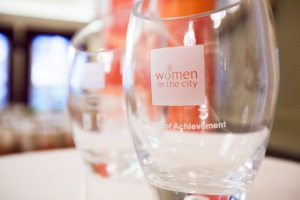 Women in the City Awards Trophy