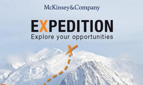 Expedition 2018 –  join young professionals at McKinsey's Alpine University