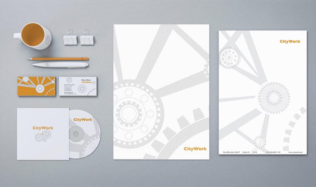citywork logo & branding