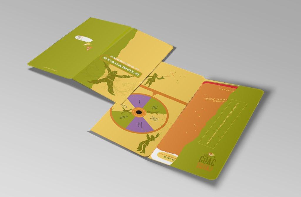 Folder front & back