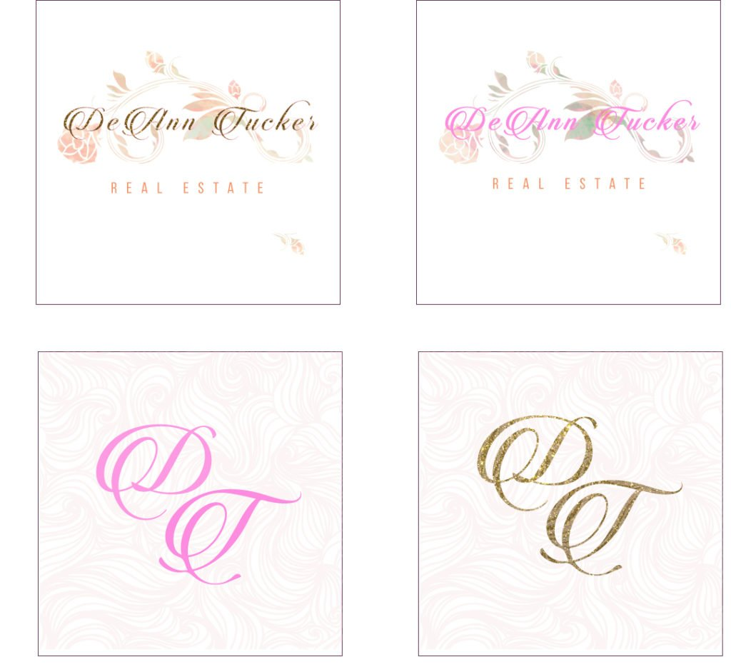 DeAnn Tucker Logo Studies