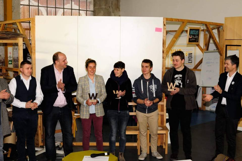 gagnants WIL 2019 - CITYZEND 2nd prix avec Yvan le Divan