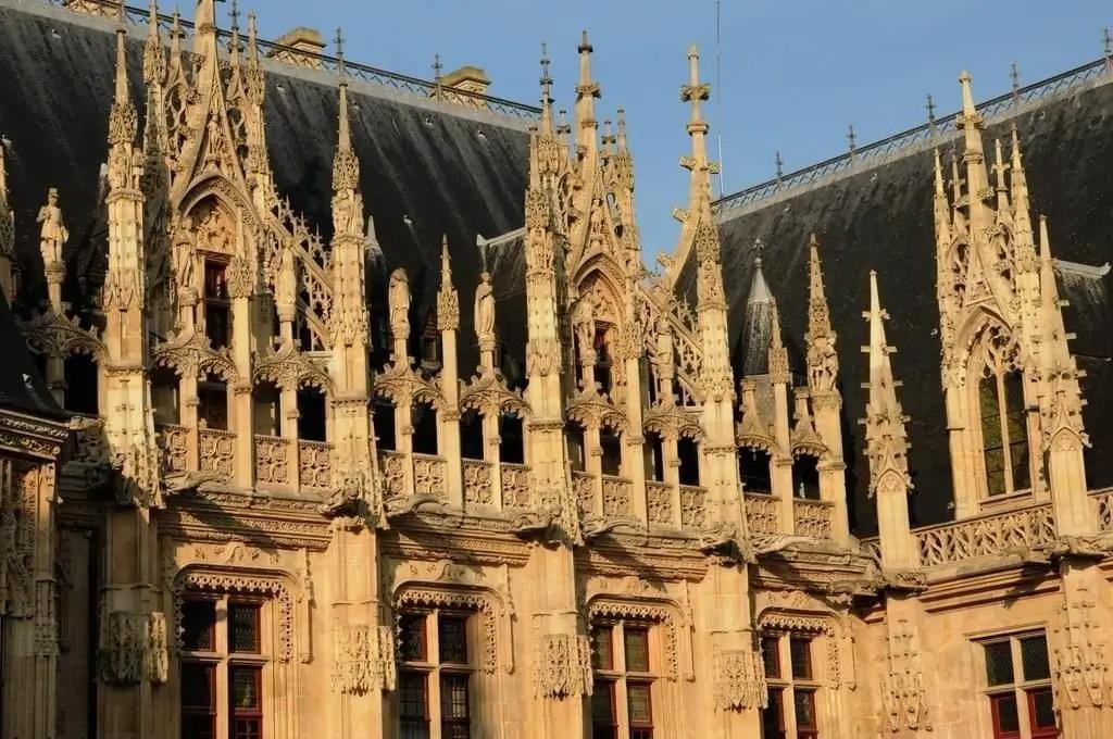 Palais De Justice De Rouen Rouen