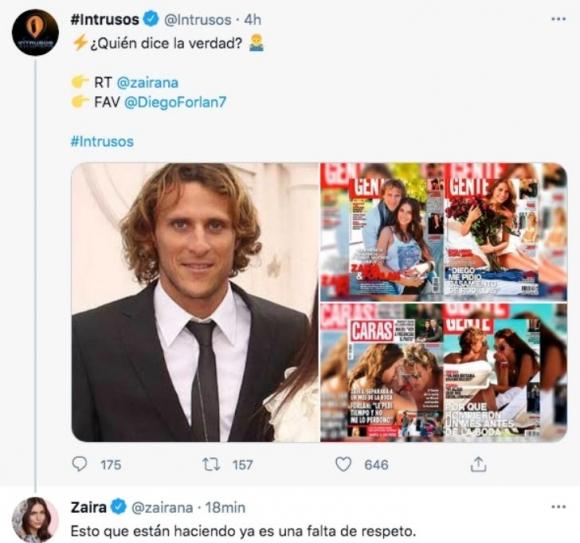 """La furia de Zaira Nara al ver una encuesta de Intrusos en Twitter: """"Esto que están haciendo ya es una falta de respeto"""""""