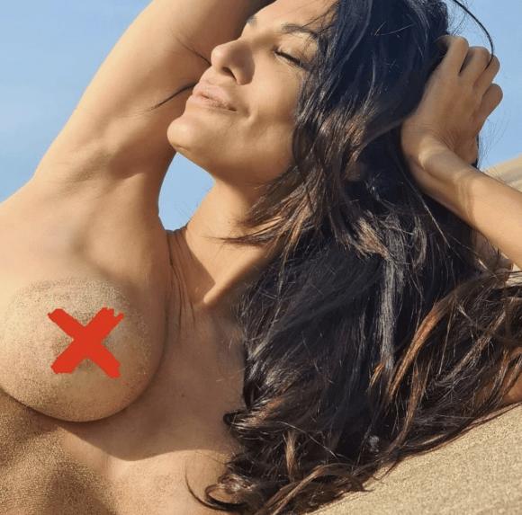 """Silvina Escudero pateó el tablero y publicó en Instagram una foto en topless: """"Me niego a vivir en un mundo ordinario"""""""