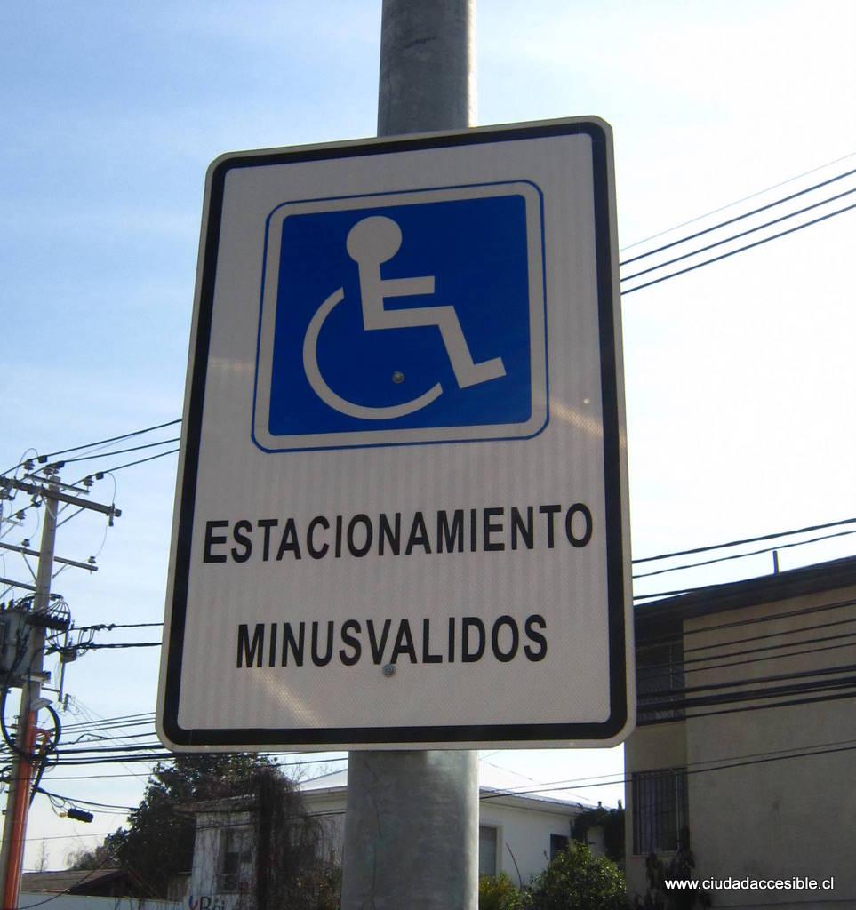 De Minusvlidos y Lisiados a Estacionamientos Accesibles  Corporacin Ciudad Accesible