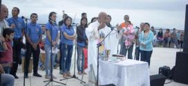 Más de 22.800 visitantes recibió el Manto de María en el inicio de su semana aniversario