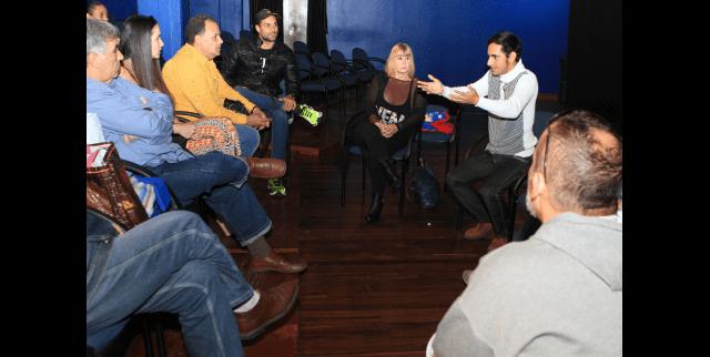 Actores de cine y televisión venezolanos debatieron situación del gremio artístico