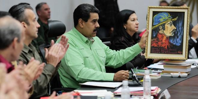 Maduro promueve la lectura sobre la vida y obra de Ezequiel Zamora