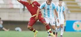 Vinotinto Sub17 debuta derrotando 1-0 a Argentina