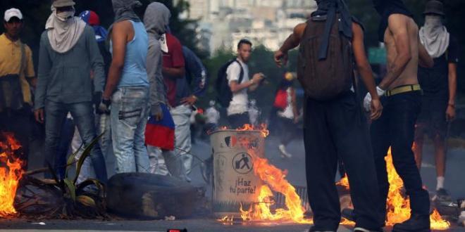 Un saldo negativo deja la violencia en Venezuela