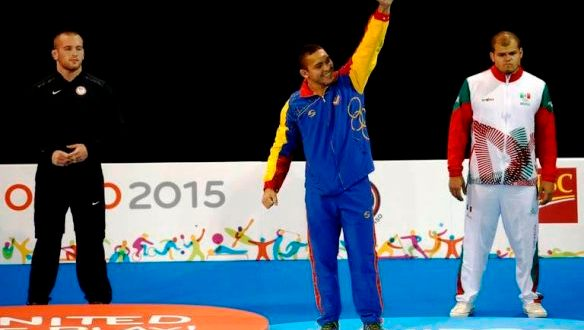 Lucha criolla finalizó tercera en Open de Mongolia