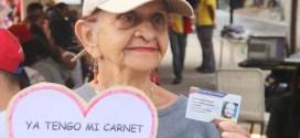 Más de 15 millones 900 mil personas se han registrado en el Carnet de la Patria