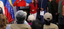 Presidente Nicolás Maduro: Vine a hacer el primer voto por la paz