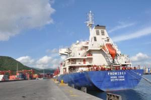 Arribaron 30 mil toneladas de maíz blanco a Puerto Cabello