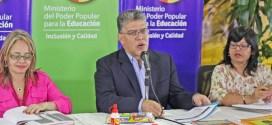 ELÍAS JAUA: Más de tres millones 700 mil estudiantes beneficiados con el PAE