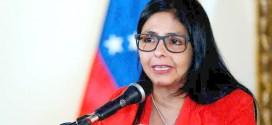 DELCY RODRÍGUEZ:  La paz es un derecho irrenunciable de nuestro pueblo