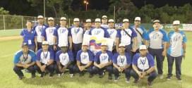 Venezuela clasificó a los Juegos Centroamericanos de Sóftbol Masculino 2018