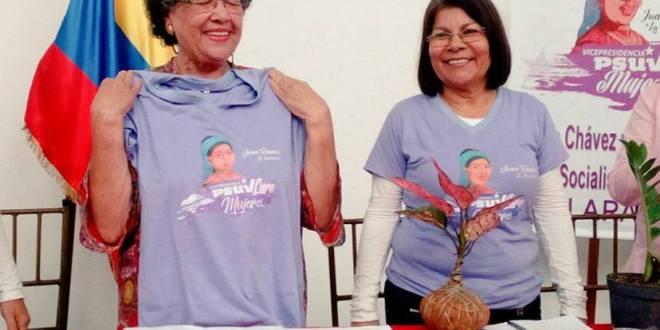 María León y Blanca Romero se encuentran con las mujeres del estado