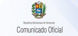 (+Comunicado) Venezuela felicita a Dominica por el 39º aniversario de su independencia
