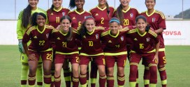 Vinotinto femenina sub-17 se reunirá en Caracas