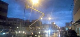 2.195 puntos de iluminación se reactivan en las principales avenidas del estado Lara