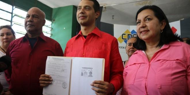 Oficial: Luís Jonás Reyes candidato del Psuv para la Alcaldía de Iribarren(+Video)