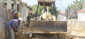 Viento en popa trabajos de aguas negras de la comunidad El Garabatal