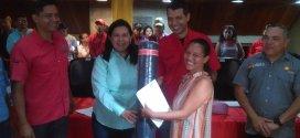 Gobernación de Lara y Alcaldía de Iribarren entregaron créditos a productores de la localidad