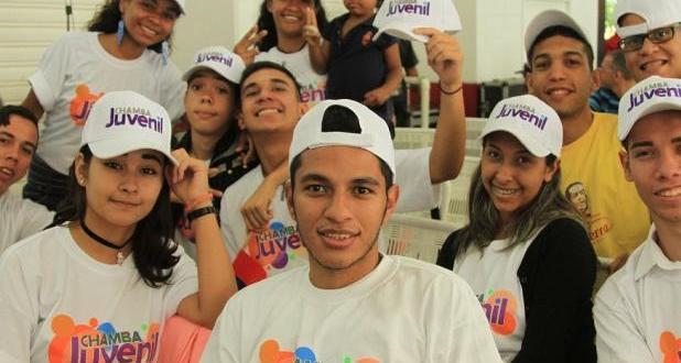 Jóvenes de Chamba Juvenil continúan incorporándose al sector productivo