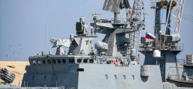 Primer buque de guerra de Rusia llega a Sudán