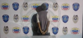 Sujeto detenido por posesión de drogas en la Plaza Los Abuelos de Barquisimeto