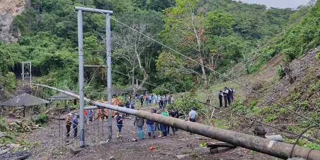 Más de 60 metros de tubería fueron sustituidos en la Quebrada de Guaja del municipio Andrés Eloy Blanco