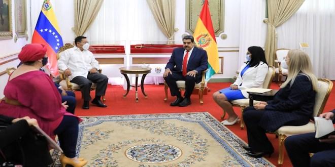 DESDE EL PALACIO DE MIRAFLORES | Presidente Maduro da la bienvenida a Mandatarios que asisten a XIX Cumbre de ALBA-TCP