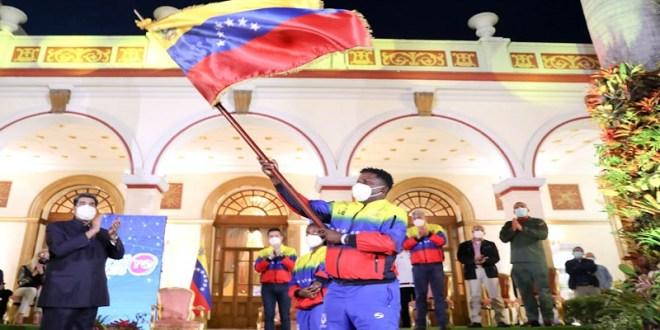 """Presidente Maduro abanderó delegaciones de Venezuela a Juegos Olímpicos y Paralímpicos """"Tokio 2020"""""""
