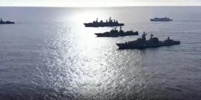 Por primera vez Flota y Aviación Naval de Rusia maniobran en Pacífico