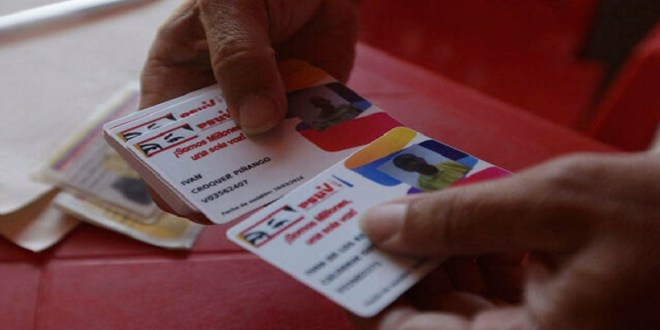 PSUV avanza en su proceso de registro y actualización de la militancia