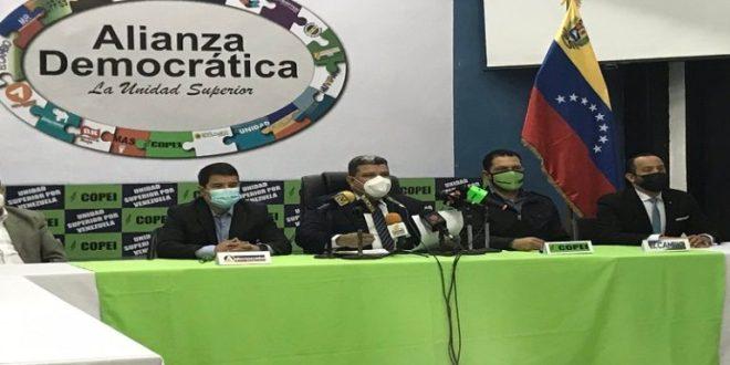 Alianza Democrática llama a las organizaciones políticas a construir espacios de encuentro en el país