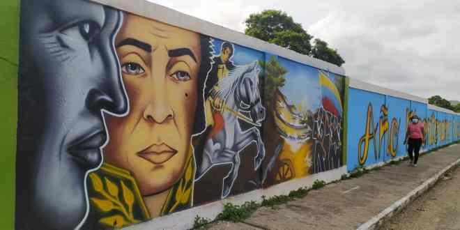ARTE BICENTENARIO / «Las paredes de mi pueblo hablan de Independencia»