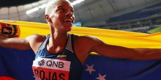 Yulimar Rojas logra superar el récord nacional en salto largo tras imponerse en la final del Campeonato de Clubes de España