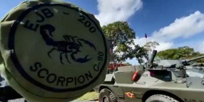 Ejército Bolivariano recupera 80 tanques Scorpion C-90 para elevar el nivel de apresto operacional