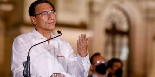 Martín Vizcarra llama a respetar la voluntad popular en elecciones de Perú