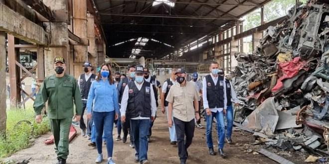 Gobierno Bolivariano destruye más de 31 mil armas de fuego mediante método de fragmentación