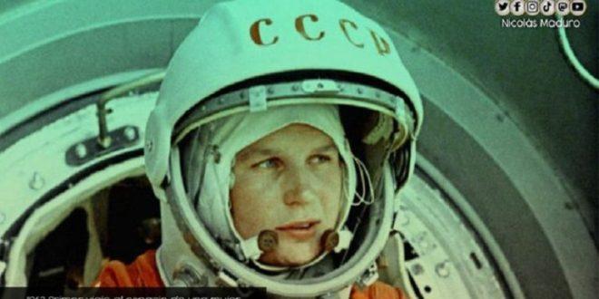 Se cumplen 58 años del primer viaje al espacio de una mujer, la cosmonauta rusa Valentina Tereshkova