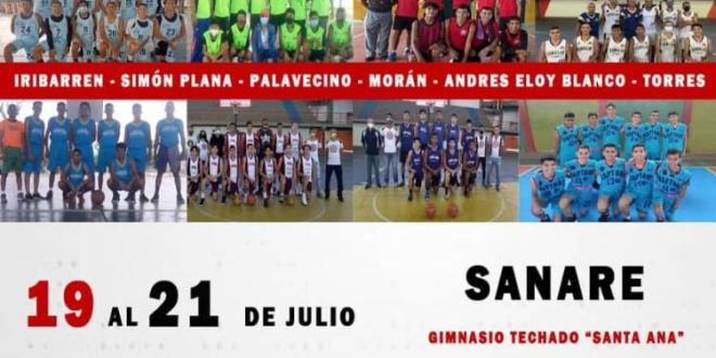 JUVENTUD Y DEPORTE LARENSE / Sanare celebra el Primer Festival Estadal de Baloncesto Masculino U17