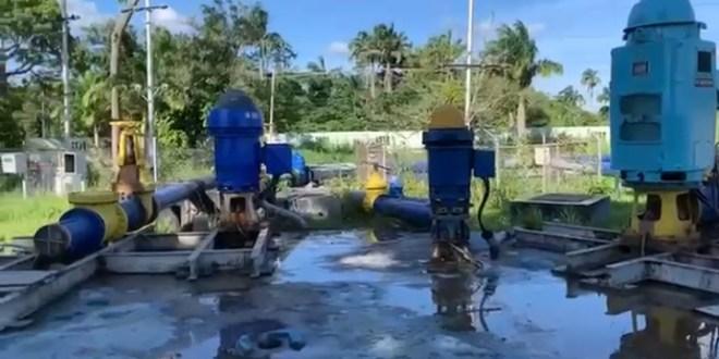 Reactivada la estación de rebombeo «Carabalí» en Palavecino