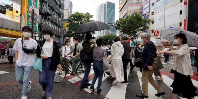 Japón registra 20 mil nuevos contagios por primera vez en la pandemia