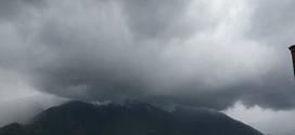 Inameh prevé abundante nubosidad con precipitaciones de intensidad variable para este martes