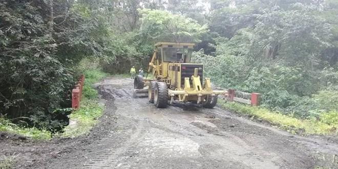 EN EL ESTADO LARA / Inspeccionan trabajos de vialidad en sector El Potrero del municipio Crespo